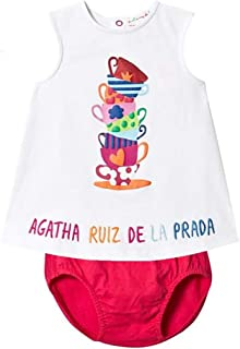 Teacup Dress & Bloomer for Baby Girl