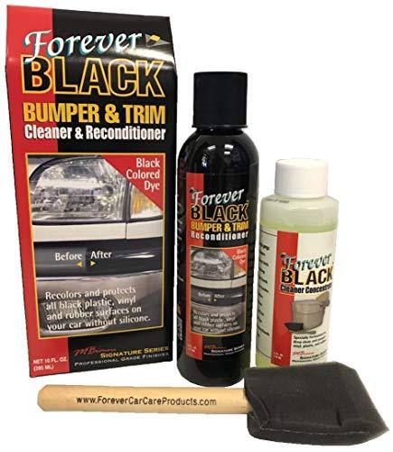 Forever Black Bumper & Trim Kit (NEW Improved Formula & Larger Size)