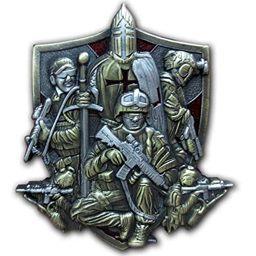 US Military Special Forces Operator Green Beret Delta Seal Psalms 144:1-6 Blessed be The Lord Coin