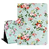 Hepix New iPad 10.2 Case iPad 7th Generation Case 2019 with Pencil Holder, Slim Protective iPad 10.2 Case with Auto Wake/Sleep, Soft Silicone Rubber Trifold Stand for Viewing/Typing (C5)
