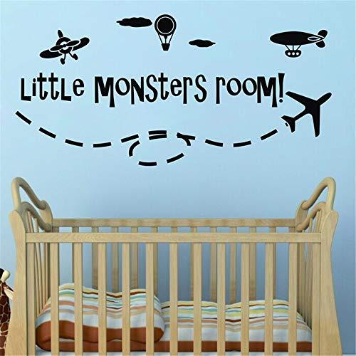pegatinas de pared Pegatinas de pared de Amazon Little Selling Little Monsters Room para niños niños decoración de la habitación