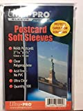 (1000) Ultra Pro Brand Postcard Size Sleeves 93mmx146mm Acid Free Pvc Free 3 11/16 x 5 3/4 81225