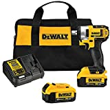 DEWALT 20V MAX Cordless Impact Wrench Kit with Detent Pin, 1/2-Inch (DCF880M2)