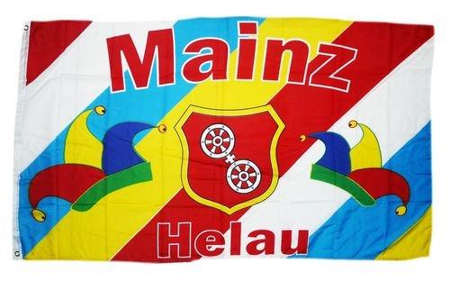 Sturmflaggen® Flagge Fahne Fastnacht Mainz Helau 90 x 150 cm
