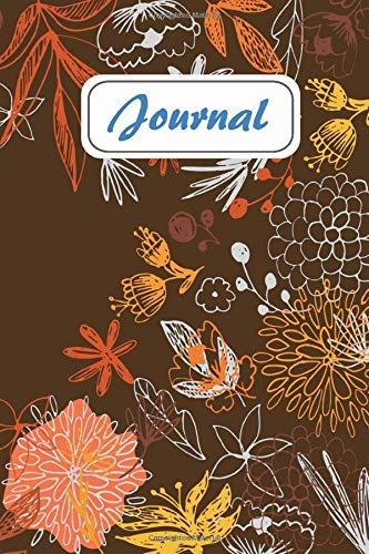 Journal: Vintage Floral Design - Journal, Notebook, Diary (College Ruled) (Vintage Flower and Botanical Designs - Journal, Notebook, Diary, Composition Book) Size 6