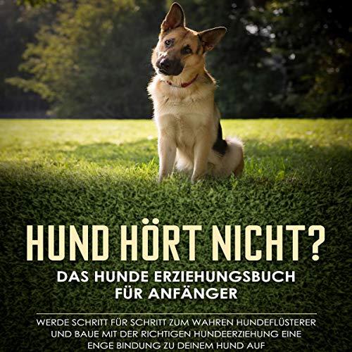 Hund hört nicht? Das Hunde Erziehungsbuch für Anfänger Titelbild