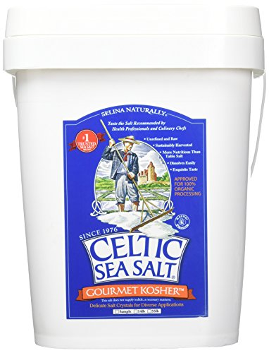 Celtic Sea Salt Gourmet Kosher Salt, 14 Pound