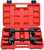 Fourward Kit de Amortiguador de Resorte de compresor de 2 Piezas, Amortiguador de automóviles Profesional de Accesorios de automóvil 300 mm