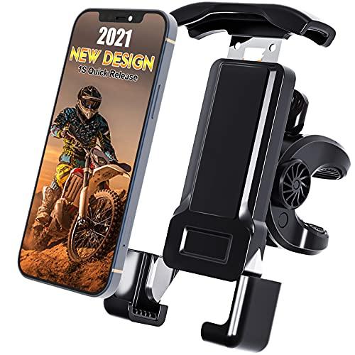 Soporte para teléfono de moto para moto motocicleta bicicleta soporte para teléfono para bicicleta iPhone ciclo teléfono celular scooter teléfono móvil manillar bicicleta montaña ciclismo iphone 11 12