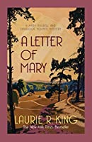 A Letter of Mary (Mary Russell & Sherlock Holmes) by Laurie R King(2014-01-14)