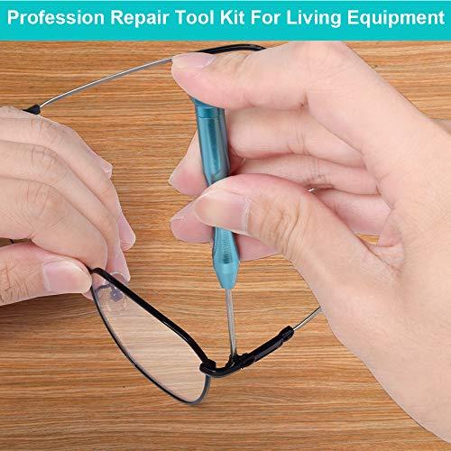 Screwdriver Sets Tool Gifts for Men - Eyeglass Repair Kit Watch Repair Kit Computer Tool Kit Jewelers Screwdriver Set Precision Screwdriver Set Christmas Birthday Gifts for Men Gadgets for Men