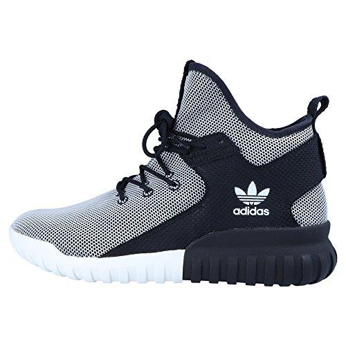 adidas Herren Schuhe / Sneaker Tubular X Core schwarz 41 1/3