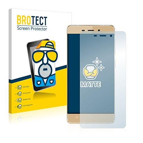 BROTECT 2X Entspiegelungs-Schutzfolie kompatibel mit Allview X3 Soul Mini Bildschirmschutz-Folie Matt, Anti-Reflex, Anti-Fingerprint
