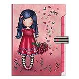 Santoro-M073A Material Escolar, Color Rosa (936GJ04)