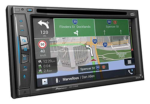 Pioneer AVIC-Z730DAB Mediacenter, Navigatore, Wi-Fi, Touchscreen da 6,2 pollici, collegamento a smartphone, Bluetooth, Apple CarPlay, vivavoce, 2 USB, radio digitale DAB/DAB+