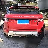 wuwenjun Spoiler Posteriore alettone Posteriore per Auto in Materiale ABS per Il Nuovo Land Rover Evoque Spoiler 2014-2020