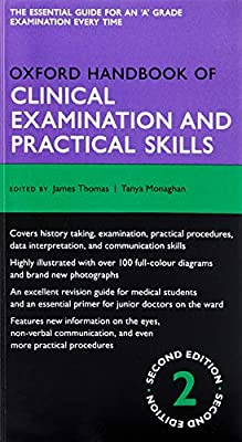 Oxford Handbook of Clinical Examination and Practical Skills 2/e (Flexicover) (Oxford Medical Handbooks) by OUP Oxford