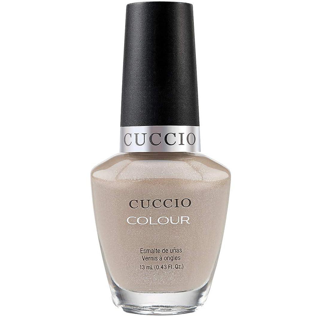 切り下げ資本階段Cuccio Colour Gloss Lacquer - Cream & Sugar - 0.43oz / 13ml