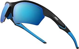 Fashion Polarzied Sports Sunglasses for Women Men,Driving Running Cycling Golf Baseball Grasses(HN095)