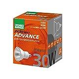 ウシオライティング電球 JDRφ50ダイクロハロゲン ADVANCE JDR110V30WLW/KUV-H 1個 ウシオライティング