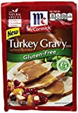 McCormick Gluten Free Turkey Gravy Mix (4 Pack) .88 oz Packets