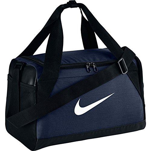 Nike Brasilia Sporttasche, Midnight Navy/Black/White, Einheitsgröße