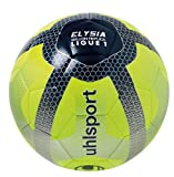 Uhlsport Elysia Replica Ballon de Football Mixte Adulte, Jaune Fluo/Bleu...