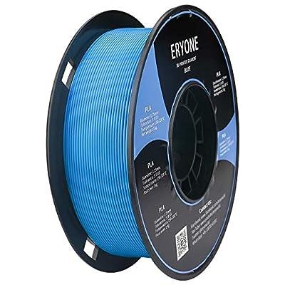 PLA Filament 1.75mm, ERYONE Filament PLA 1.75mm, 3D Printing Filament PLA for 3D printer, 1kg 1 Spool, Blue
