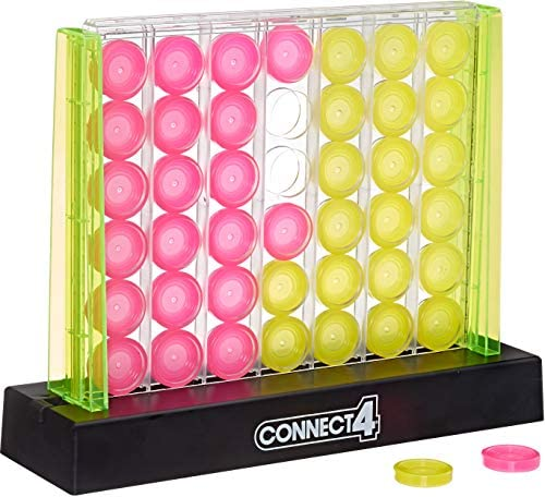Hasbro Gaming Connect 4 Neon Pop Board Game Strategy Game for Kids Ages 6 Up for 2 Players product image