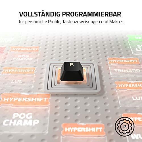 Razer Cynosa V2 - Gaming Tastatur mit weichen gefederten, membranen Schaltern (Medientasten, Kabelmanagement, voll programmierbar, RGB Chroma Beleuchtung ) QWERTZ | DE-Layout, Schwarz