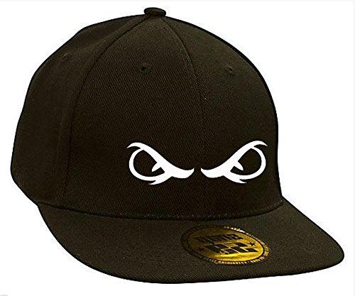 Bonnet Casquette Snapback Baseball Yeux Eyes Hip-Hop Rich Bad Hair Day