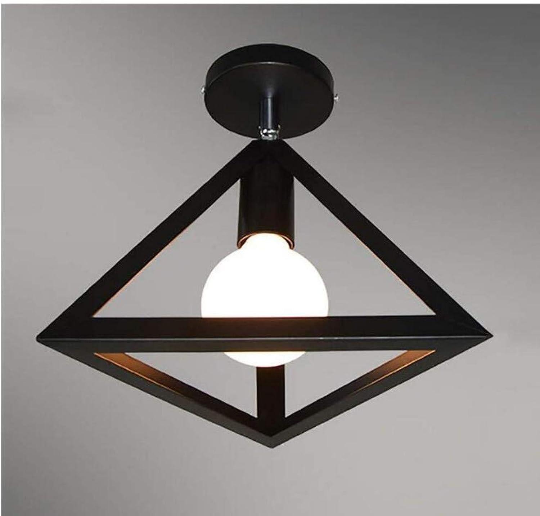 Kronleuchter Deckenleuchte Led-Lichtwohnmbel Deckenleuchte Retro Eisen Industrial Style Deckenleuchten Europische Schlafzimmer Lampen Geometrie