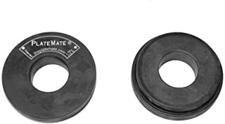 Microload Pair 2 1/2 lb. Magnetic Donut Weights