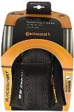 Continental Reifen Conti Speed King II Race Sport faltbar Skin Cubierta, Unisex Adulto, Negro, 26 x 2,2'