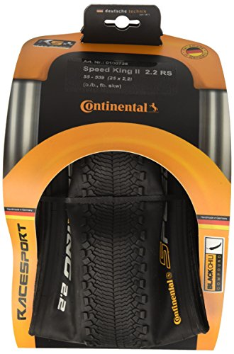 Continental Unisex– Erwachsene Fahrradreifen Speed King II 2.2 RaceSport, Schwarz, 26 x 2.2 Zoll