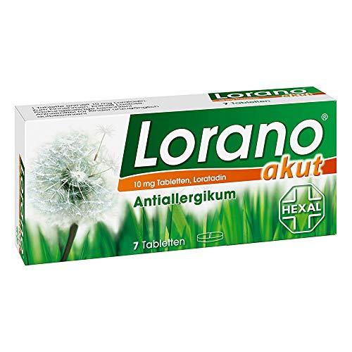 LORANO akut Tabletten 7 St Tabletten