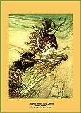 World of Art Arthur Rackham The Rhine-Maidens Teasing