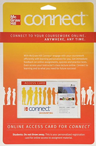 Connect Accounting with LearnSmart 1-Semester Access Card...