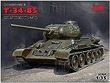 ICM 1/35 ソビエト陸軍 T-34/85 プラモデル 35367