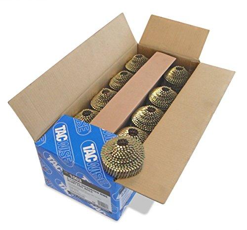 Tacwise 1003 Bobinas cónicas de Clavos Blunt galvanizados y anillados de Tipo 2.1/32, Metalizado, 2.1/32 mm, Set de 14400 Piezas
