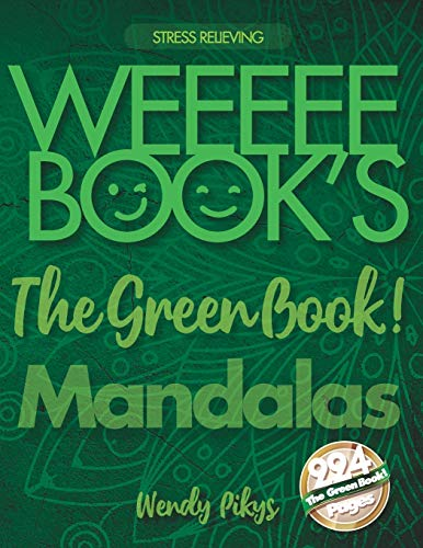WEEEEE BOOK'S My Green Book! Mandalas 🕉️ Relaxing Designs to relieve Stress ☯️ Adult Colori