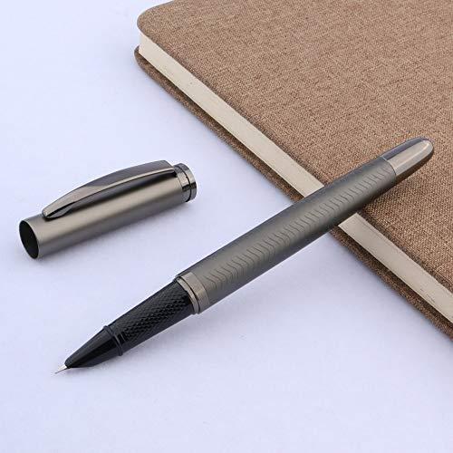 No-Branded Füller Classic Wave G-un Grau Büro Metall Geschenk 038 Kalligraphie Feder Füllfederhalter