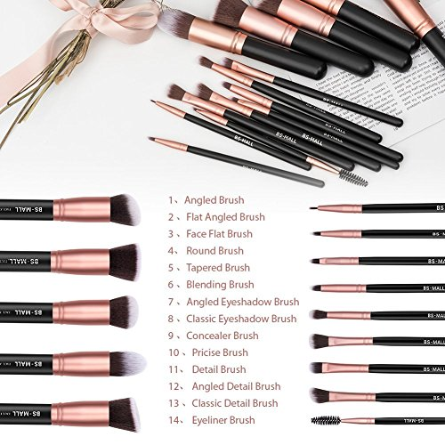 40 piece makeup brush set _image3