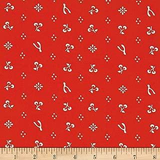 Birch Organic Fabrics Merryweather Merrythought Red Yard