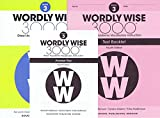 Wordly Wise 3000� 4th Edition Grade 3 SET -- Student Book, Test Booklet and Answer Key (Direct Academic Vocabulary Instruction)