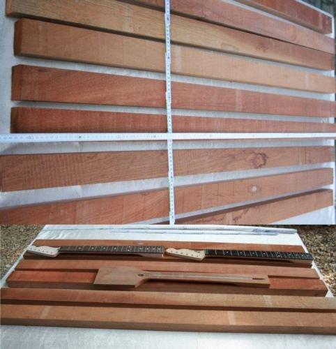 Neck Hals Kantel Blank Mahagoni ca 5 cm 7-9 cm x 70-80 cm Tonholz