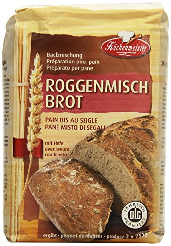 Küchenmeister Roggenmischbrot Bac, 10er Pack (10 x 1 kg)