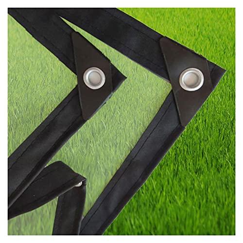 DPLLM Lona de protección Universal Multiusos PE Transparente para Plantas Invernadero Pet Hutch Roof (Color : Transparente, Size : 5x1m)