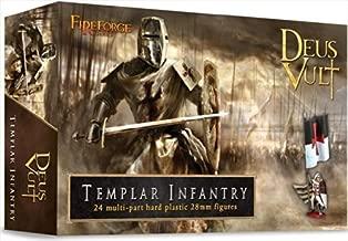 Deus Vult: Templar Infantry by FIREFORGE GAMES