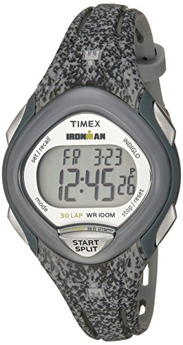 Timex Ironman Sleek 30 Reloj de correa de resina de tamaño medio